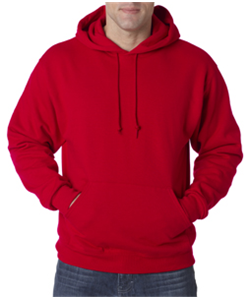 Baseball Red Hooded<br>Sweatshirt