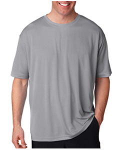 Baseball Grey Dry Fit<br>Short Sleeve T