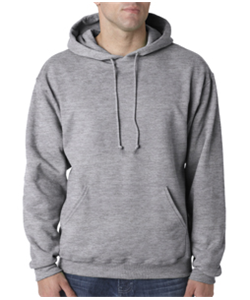 Softball Grey Hooded<br>Sweatshirt