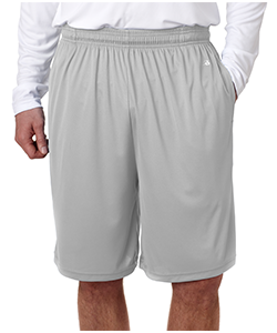 Soccer Grey Adult Shorts<br>w/ Pocket