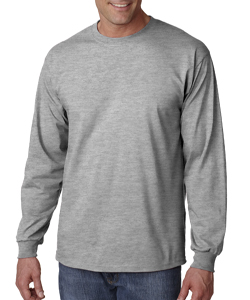 EW Baseball Grey Long-Sleeve<br> Performance Loose Tee