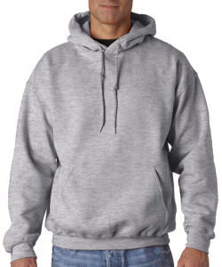 EW Baseball Grey<br> Hooded Sweatshirt