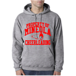 Cheer Grey Hooded Sweatshirt