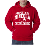 Cheer Red Hooded Sweatshirt