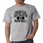 EW Baseball Grey  T-Shirt