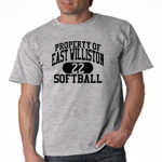 EW Softball Grey T-Shirt