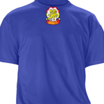 Centennial Royal Workout Shirt Shortsleeve (Patch Center Top)