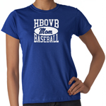 HBQVB Baseball Royal T-Shirt